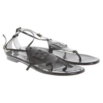 Escada Sandals in zwart