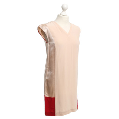 Max & Co Dress in Nude / Red