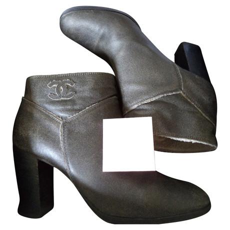Chanel Stiefel Grau Rabatt-Spielraum Store Geniue Händler Günstiger Preis Rabatt Erwerben PQmClzRB