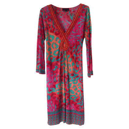 Hale Bob Silk dress with pattern