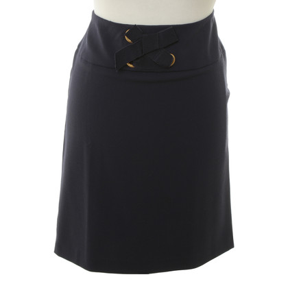 Moschino Love skirt with decorative bow