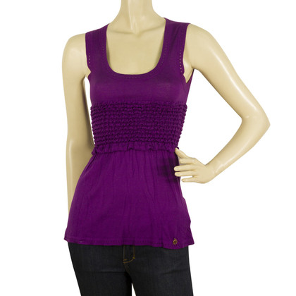 John Galliano top in purple