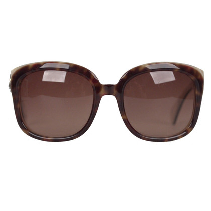 Alexander McQueen Brown tortoise sunglasses