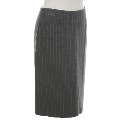 Armani skirt with pinstripe