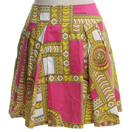 Versace skirt with pattern