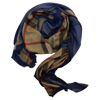 Burberry Blue Burberry stole