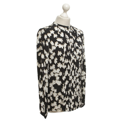 Diane von Furstenberg Silk blouse with pattern