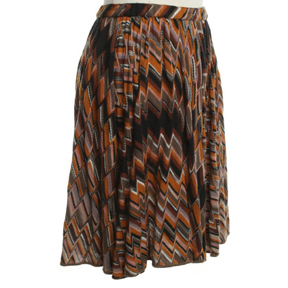 Missoni Pliseerock in Bunt