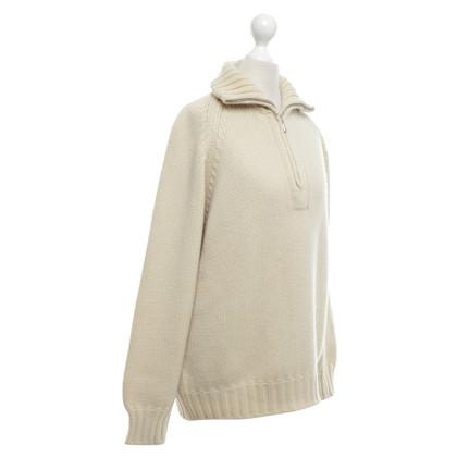 Malo Cashmere sweater in beige