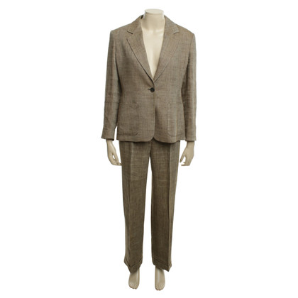 Max Mara Suit with houndstooth pattern in brown