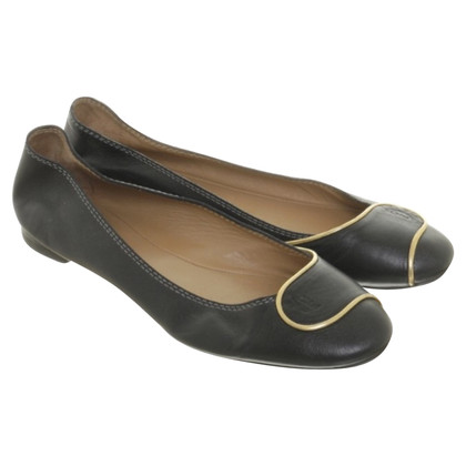 Chloé Ballerinas in black leather