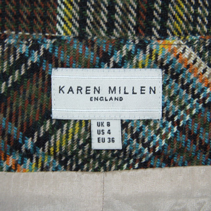 Karen Millen gonna scozzese