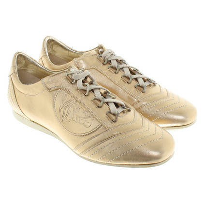 Versace Sneakers in gold