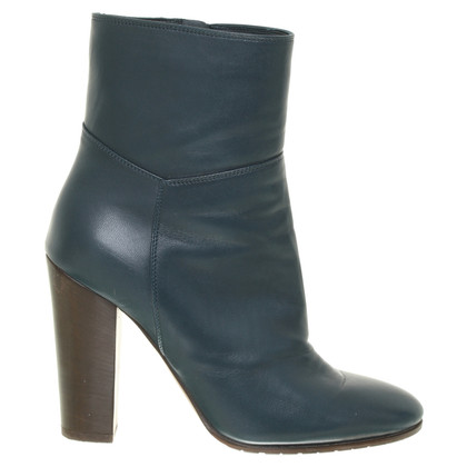 L'autre Chose Ankle boots in teal