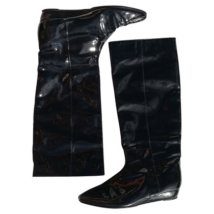 Loeffler Randall Patent leather boots