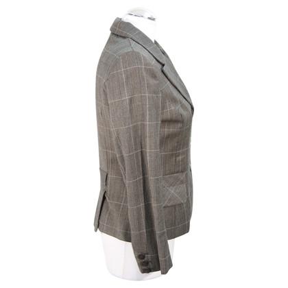 Hobbs Gecontroleerde wollen blazer in bruin