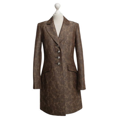 Airfield Coat with paisley pattern