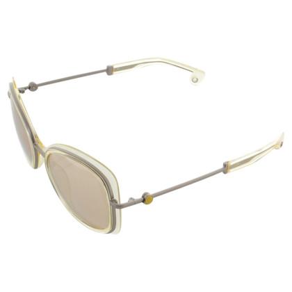 Moncler Semi-transparante zonnebril