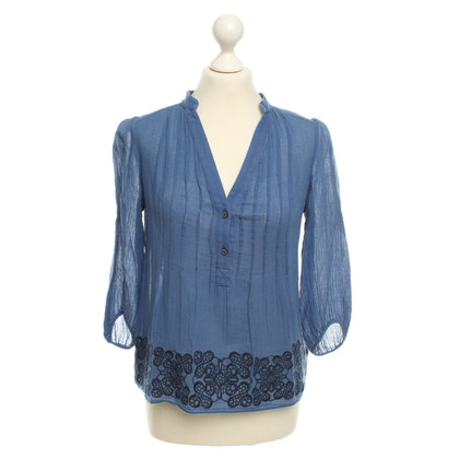Tibi Top in blu