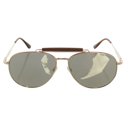 Tom Ford Sonnenbrille in Gold