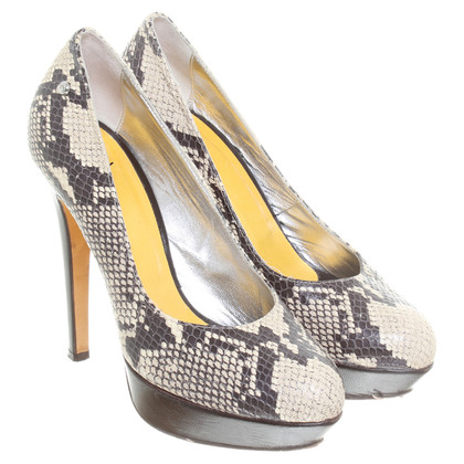 Just Cavalli pumps van Python