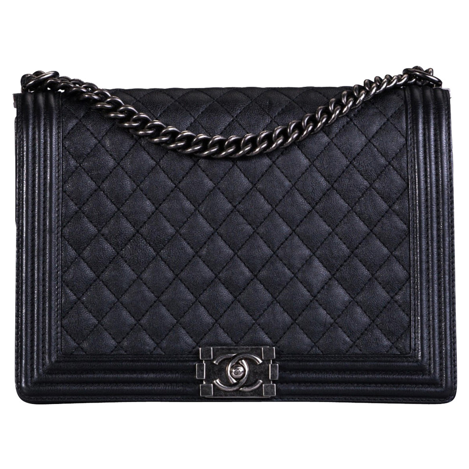 "Chanel  ""Boy Bag"" in black"