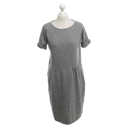 Moschino vestito lavorato a maglia in grigio
