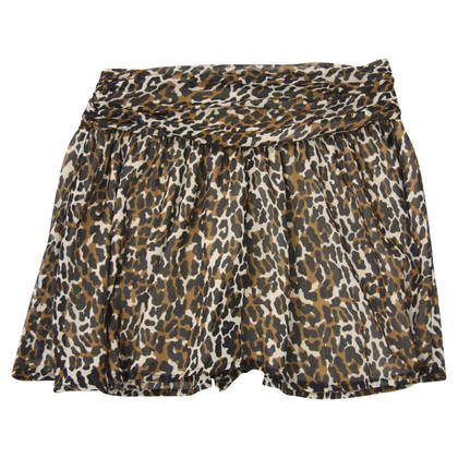 French Connection Pantaloncini con stampa animalier