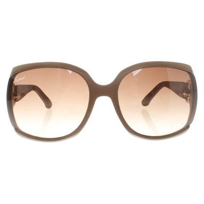 Gucci Occhiali da sole in marrone