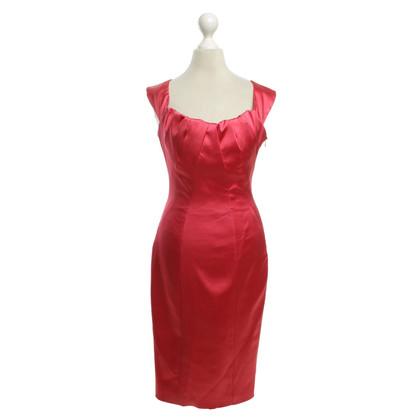 Karen Millen Satin dress in pink