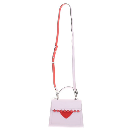 Coccinelle Bag in roze / rood