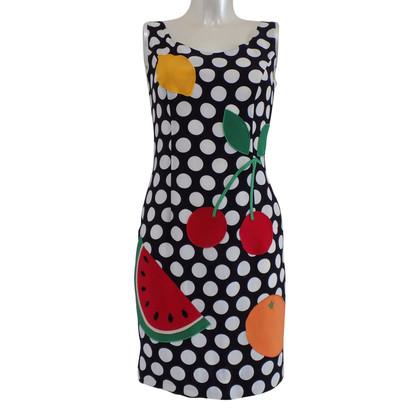 Moschino Cheap and Chic Watermeloen jurk