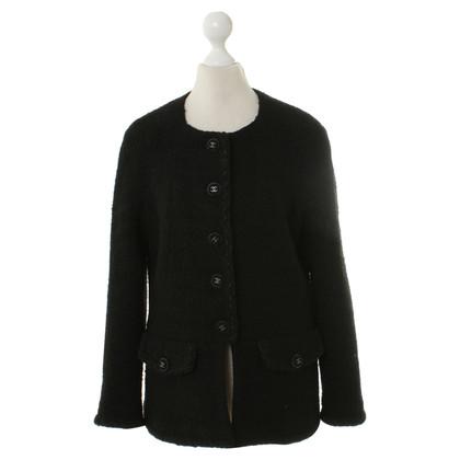 Chanel Wool jacket in black
