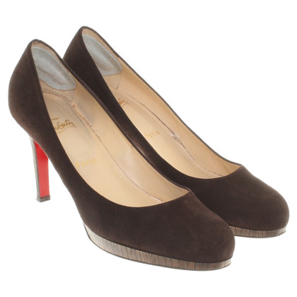Christian Louboutin pumps Suede