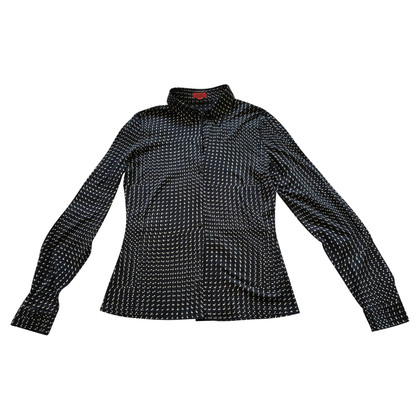 Hugo Boss donkerblauwe blouse