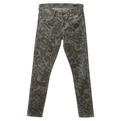 Citizens of Humanity Broek met Paisley patroon