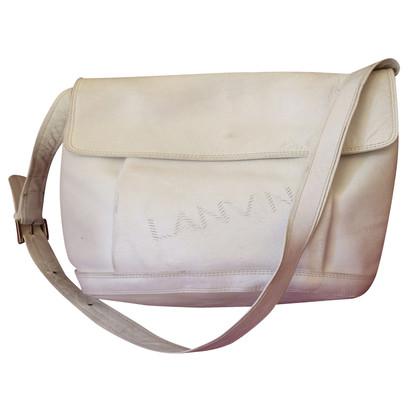 Lanvin Weiße Schultertasche