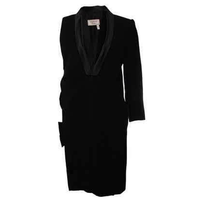 Lanvin Black Blazer Dress