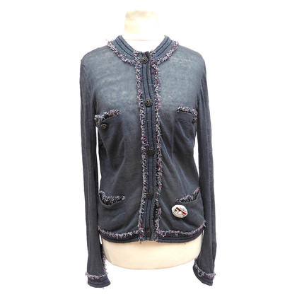 Chanel Cardigan con finiture decorative