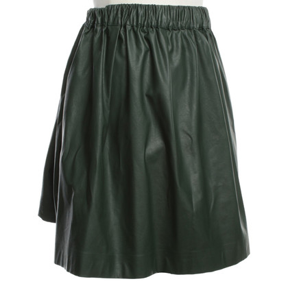 MSGM Issued skirt in green
