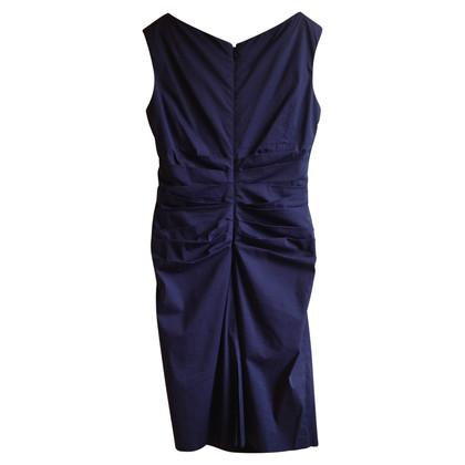 Talbot Runhof Kleid in Blau