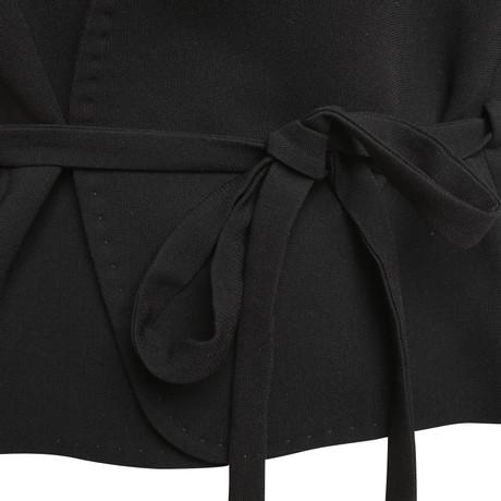 Schwarz Max Mara Blazer Taillenband mit Max Mara z06wpB