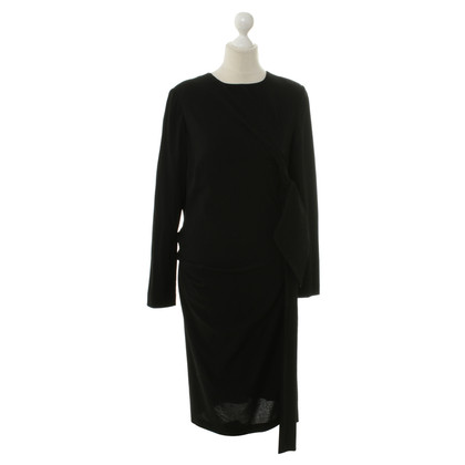 Talbot Runhof Long sleeve dress in black