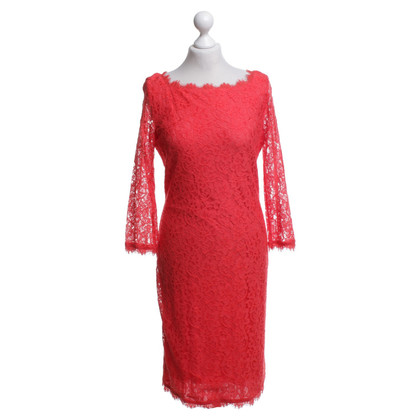 Diane von Furstenberg Dress made of lace