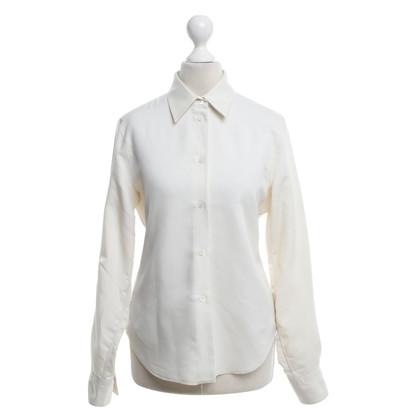 Loro Piana Zijden blouse in beige
