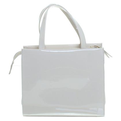 Stuart Weitzman Compact patent leather bag