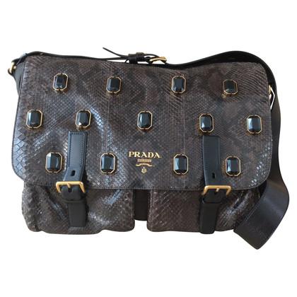 Prada Shoulder bag made of material mix