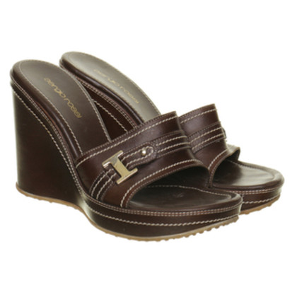 Sergio Rossi Mules with Wedge Heel