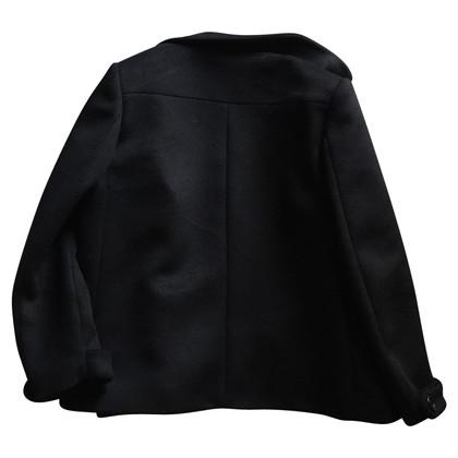 Miu Miu Wollen jas / zijde