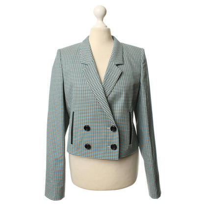 Hugo Boss Short Blazer with check pattern
